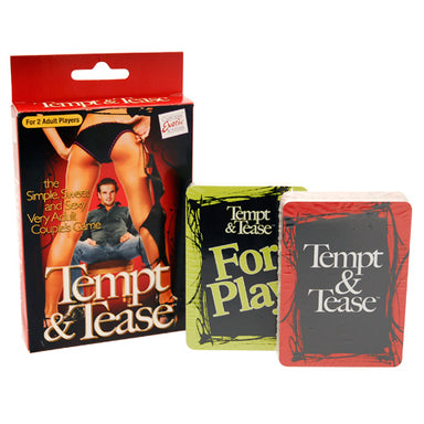 Tempt And Tease Game - Coy Store Limited