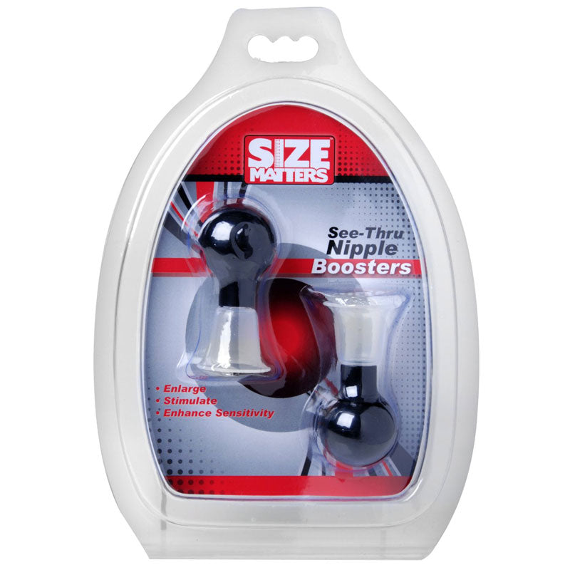 Size Matters See Thru Nipple Booster Pumps - The Coy Store