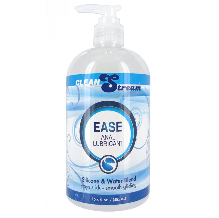 Clean Stream Ease Hybrid Anal Lubricant 16.4 oz - The Coy Store