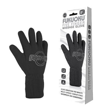 Fukuoku Vibrating Five Finger Massage Glove  Right Hand - Coy Store Limited