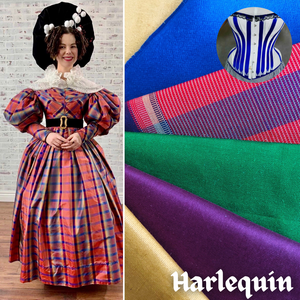 """Harlequin"" Abby Cox Costumer Spotlight  - 18th Century Housewife / Hussif KIT"