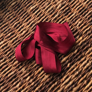 100% Silk Ribbon - 1.25""