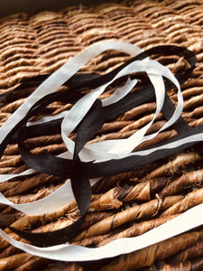 100% Silk Ribbon - 0.25""
