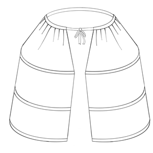 18th Century Side Hoop Kit