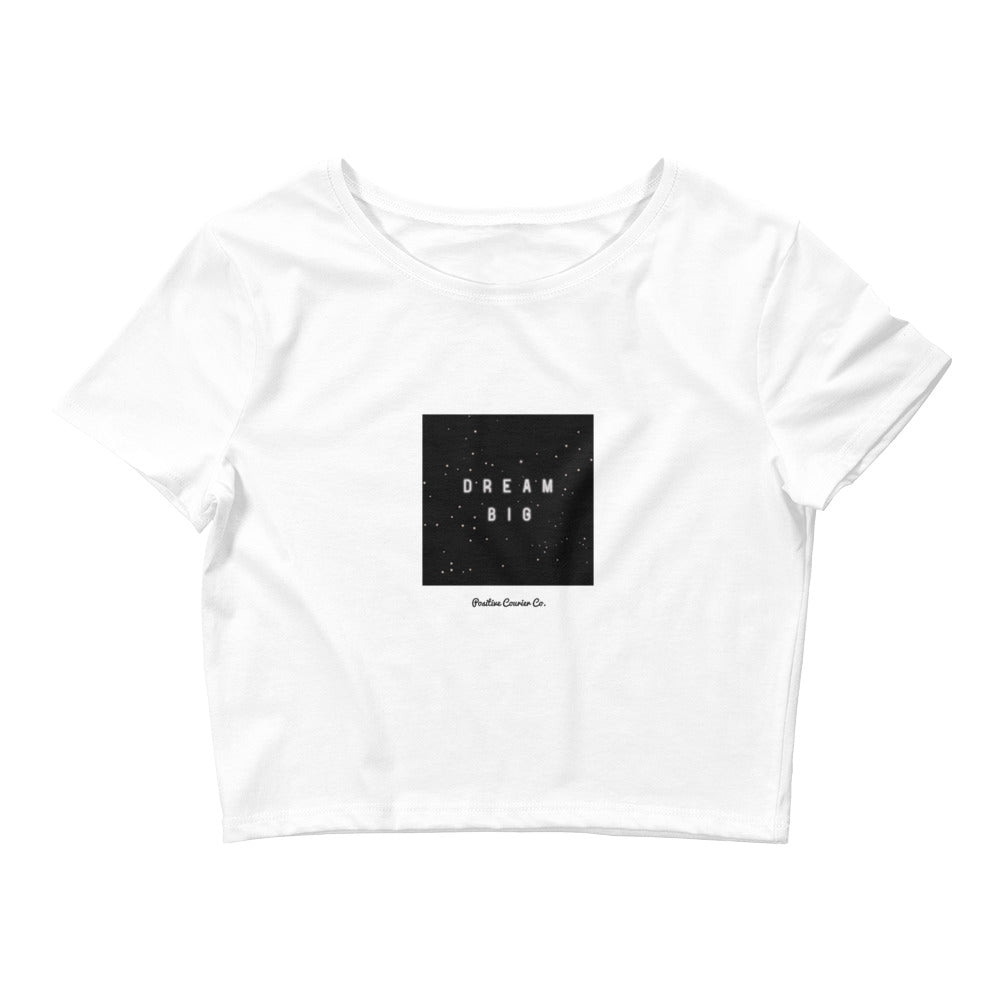 Still Dreaming Crop Tee - Positive Courier Company