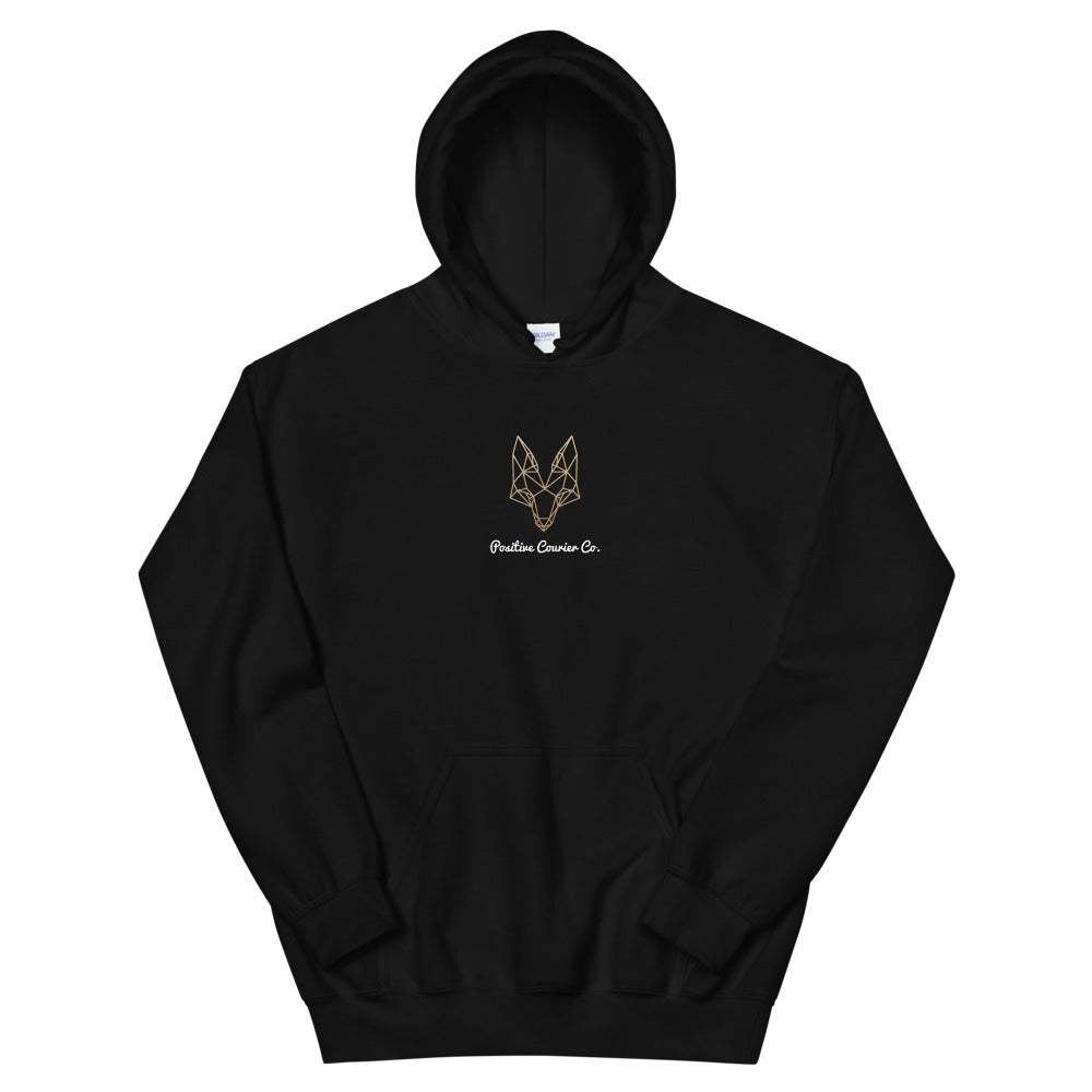 Gold Fox Hoodie - Positive Courier Company