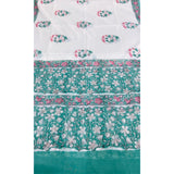 Cotton sets with mal mal dupatta (3pc)