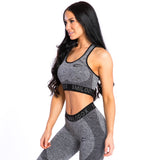 Seamless Sport Bra Cut