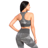 Seamless Sports Bra Savage