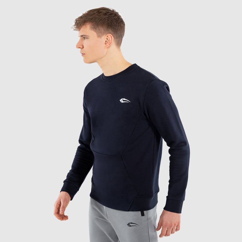 Smilodox Herren Sweatshirt Unlimited