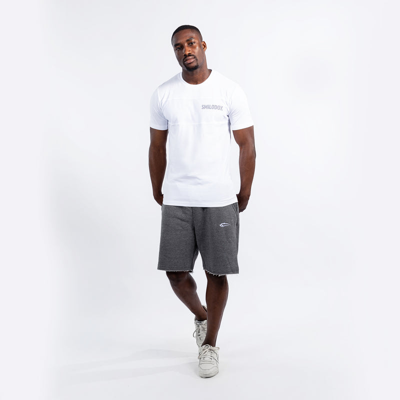 Men T-Shirt Lit Grid