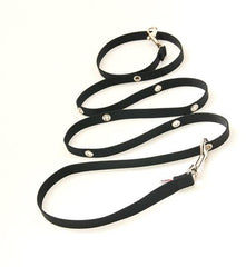 SnapLeash | Black | 7.5ft x 5/8in | SMALL Dogs < 50lbs