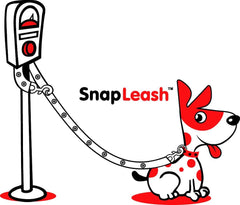 SnapLeash | Red | 7.5ft x 5/8in | SMALL Dogs < 50lbs