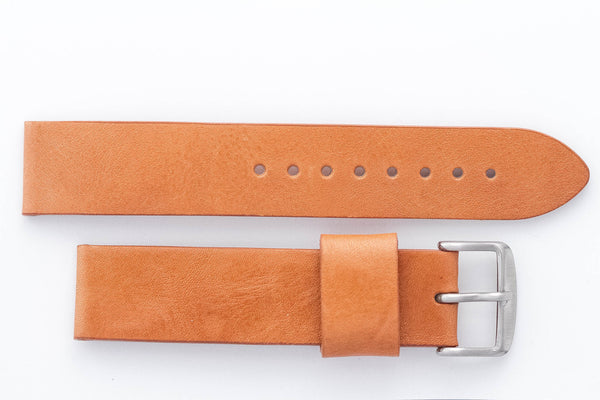 Light Brown 20mm Leather Strap