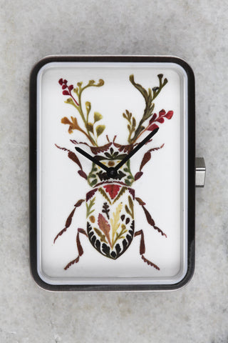 Helen Ahpornsiri Beetle Print Watch