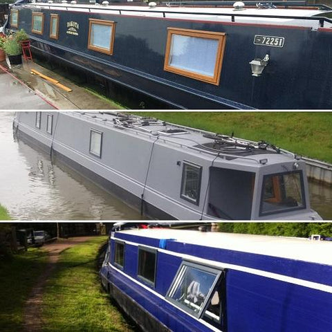 Style 1 - Width Range: 1100-1199 mm - Narrowboat Windows for Sale