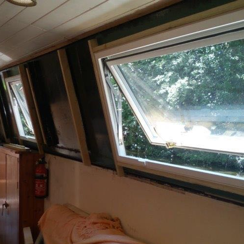 Style 1 - Width Range: 1400-1499 mm - Replacement Boat Windows for Sale