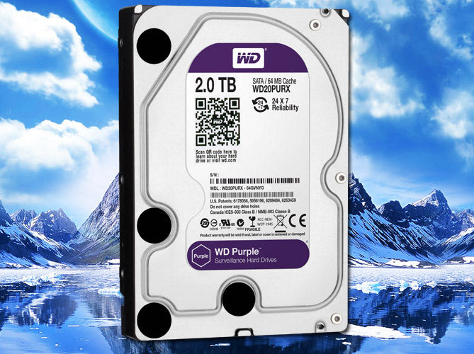 2TB Western Digital Purple