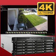 4K IP NVR SYSTEMS