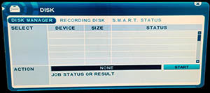 DVR System Page