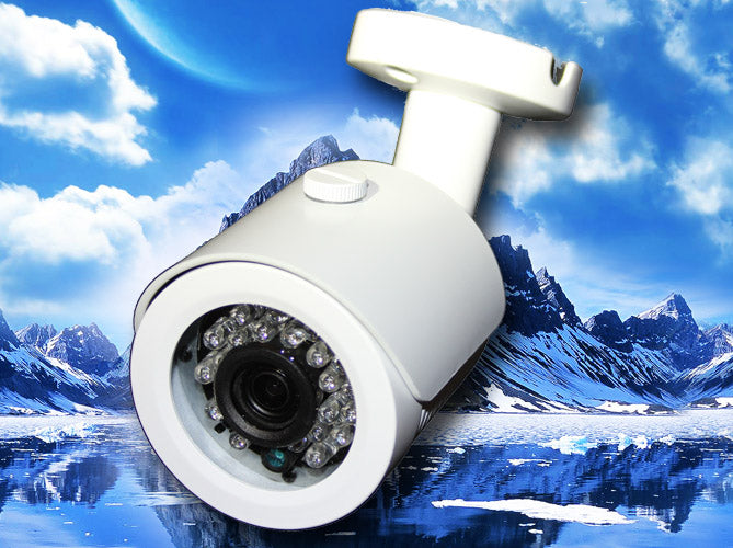 HD-TVI White Fixed Dome camera
