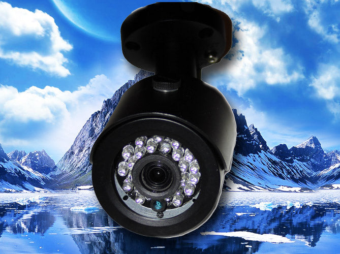 1080P HD-TVI 3.6MM BLACK INFRARED BULLET SECURITY CAMERA
