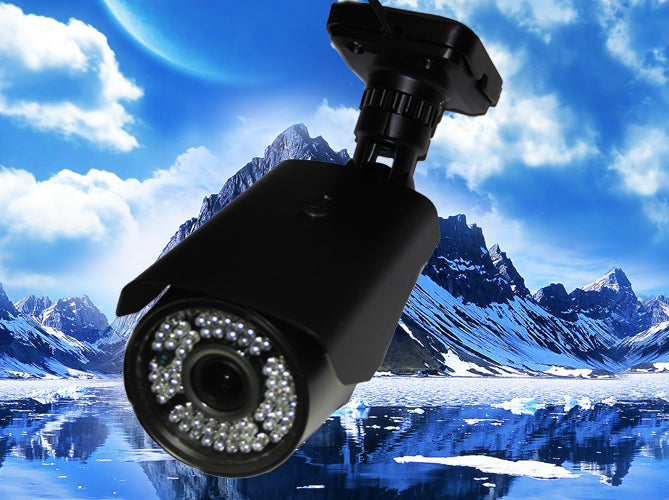 1080P HD-TVI 2.8~12MM BLACK INFRARED WEATHER-PROOF BULLET SECURITY CAMERA