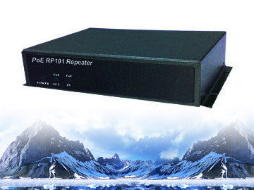 POE-RP101, 1 Port 100Mbps POE Repeater
