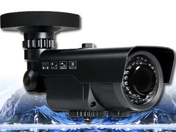 1080P 2.1 Megapixel HD-TVI 42 LED Black Motorized 2.8~12mm Lens Infrared Bullet Camera