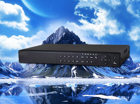 16 channel Real-Time Tribrid HD-TVI/IP/960H/D1 1080P/720p HD Security DVR,