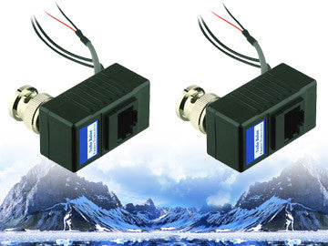 Single Channel PVD Transceiver,PAL/NTSC,AC24V+Data Power Transmission, 1 Pair