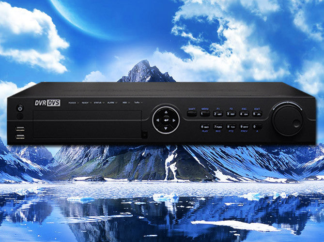 Hybrid 32 channel HD-TVI 1080P/720p/960H & Analog  HD Standalone Security DVR