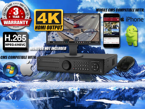 32 channel Real-Time IP HD Security NVR Up to 5MP