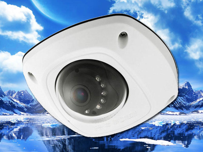 3MP IP 2.8mm Infrared Dome Security Camera