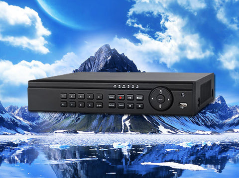 4 channel Real-Time Tribrid HD-TVI/IP/960H/D1 1080P/720p HD Security DVR,