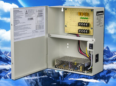 12V DC 4 Channel 5A Non-Fused Power Distribution Supply Box