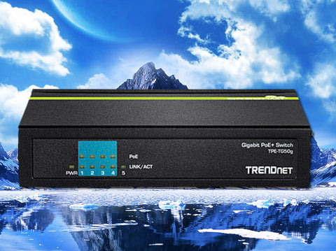 TPE-TG50g, TrendNet 4-Port Gigabit PoE Switch