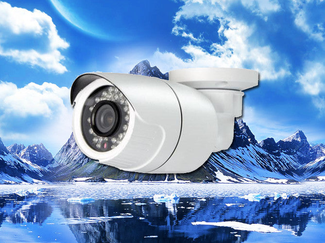1080P AHD Infrared White Outdoor Bullet Camera, 3.6mm