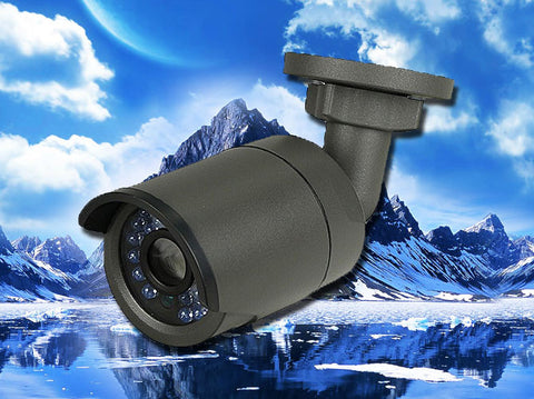 Black 2MP IP 4mm Bullet Infrared IR Security POE Camera