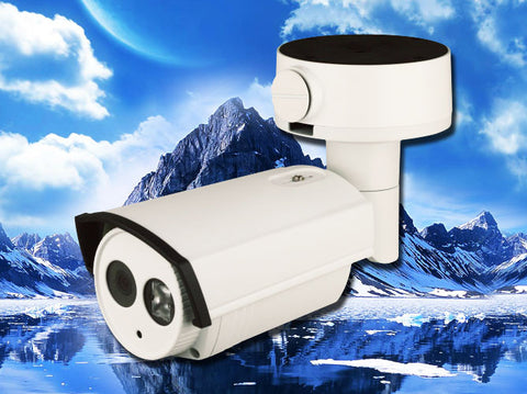 3MP POE IP Infrared IR 4mm Bullet Security Camera