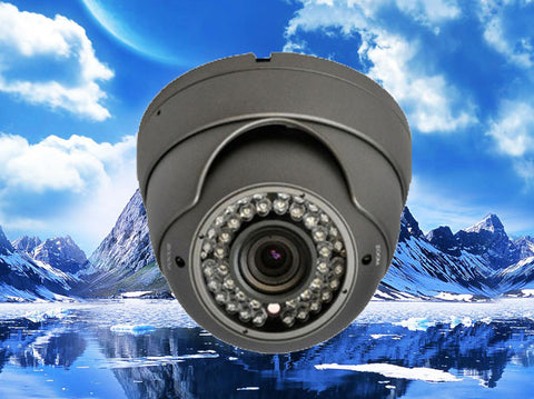 720P HD-CVI Infrared Eyeball Security Outdoor/Indoor Dome Camera, 2.8mm~12mm