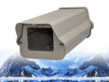LTH805HB, Outdoor Security Camera Housing with Heat / Fan