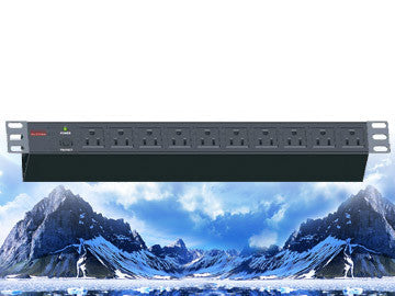"PDU-R1510, Maruson Technology, 19"" rackmount,1U, 15Amp, 10 ft power cord, 10 outlets"