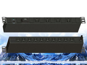 "PDU-R1514S, Maruson Technology, 19"" rackmount,1U, 15Amp, 12 ft power cord, 14 outlets and 1800J surge"