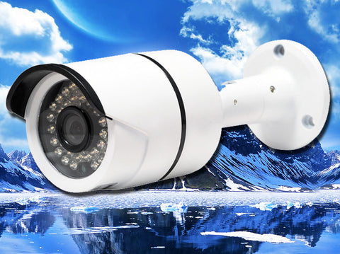 SB-2MI36-AW, CCTV STAR, Hybrid AHD/960H Infrared White Bullet Camera, 3.6mm