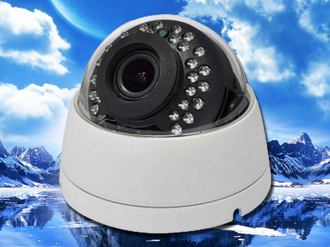 SD-2MI2812-AHD, CCTV STAR, Hybrid AHD/960H Infrared White Indoor Dome Camera, 2.8mm~12mm