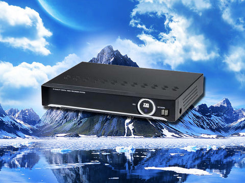 Hybrid 8 channel HD-TVI/AHD/960H/D1 1080P HD Security DVR
