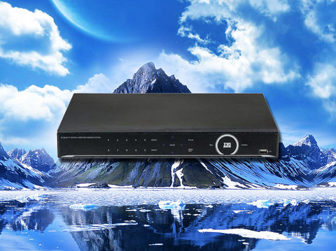 Hybrid 16 channel HD-TVI/AHD/960H/D1 1080P HD Security DVR