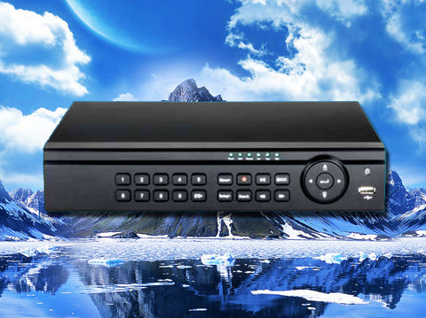 Hybrid 4 channel HD-TVI/960H/D1/IP 1080P/720p HD Security DVR