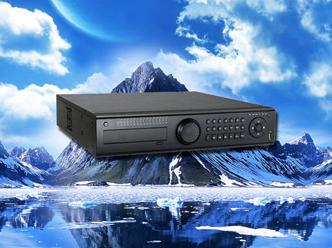 Hybrid 32 channel HD-TVI/960H/D1/IP 1080P/720p HD Security DVR